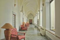 Lounging in an Old Cloister