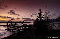Sunset of Fisherman
