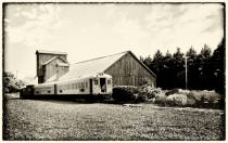 The Old Chestertown Train Station BW