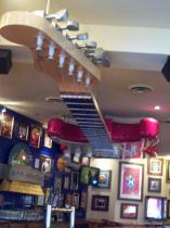 Guitar Ceiling Art