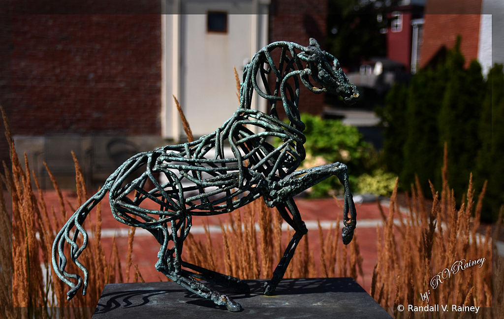 Horse Wire Statue