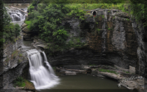 Triphammer Falls in NY State