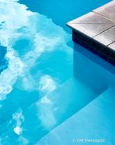 edge of the pool