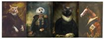 fancy pet portraits
