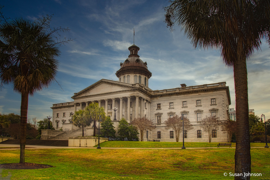 South Carolina Capital Builiding - ID: 15812747 © Susan Johnson