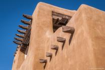 Adobe Building with Vigas