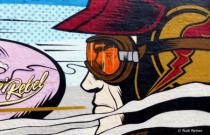 Shoreditch spray art, London