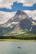 Mount Wilbur & Swiftcurrent Lake