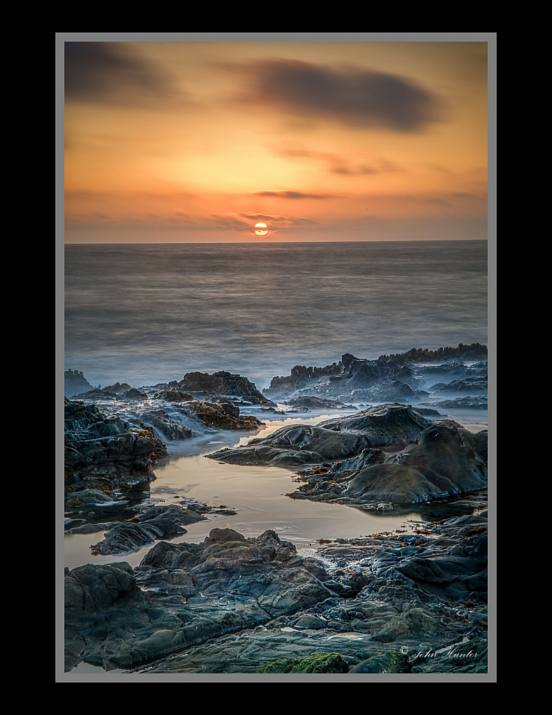 Carmel by the Sea Sunset - ID: 15813217 © John E. Hunter