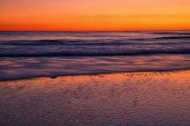 Ocean Sunset Colors