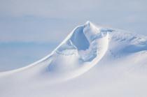 Windblown Antarctic Peak
