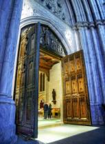 Standing Past the Open Doors