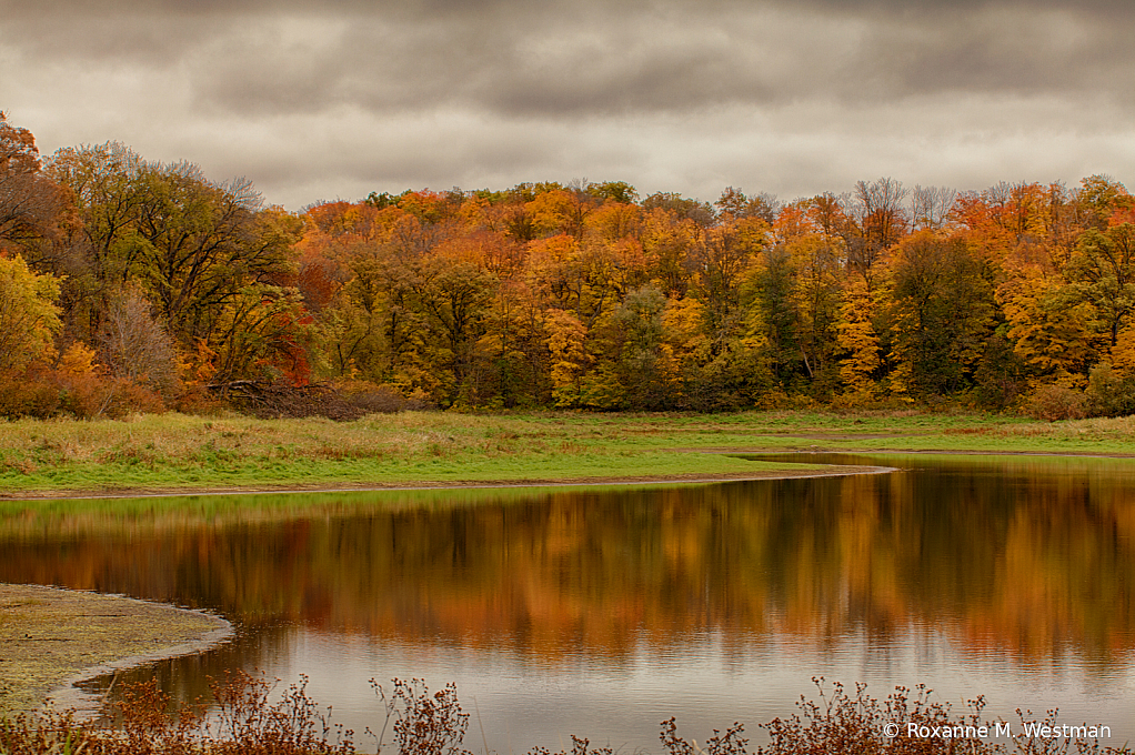 Autumn at Maplewood state park