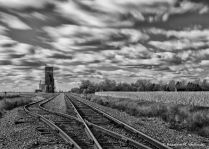 Long exposure tracks to Prosper ND