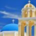 © Elias A. Tyligadas PhotoID# 15814963: Church and belfry in a greek island.