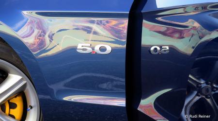 Mustang reflection