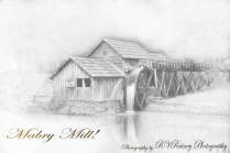 Mabre Mill conversion to Pencil Sketch