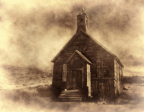 Church @ The Bodie Ghost Town