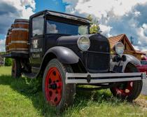 Vintage Wine Truck