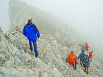 Climbing Olympus mt.