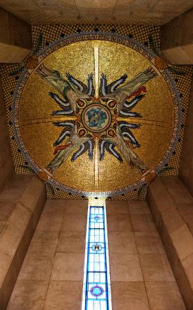 Chapel Mosaic Ceiling