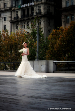 ~ ~ THE BRIDE BY THE BUND ~ ~