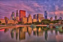 Chicago Sunrise Reflections