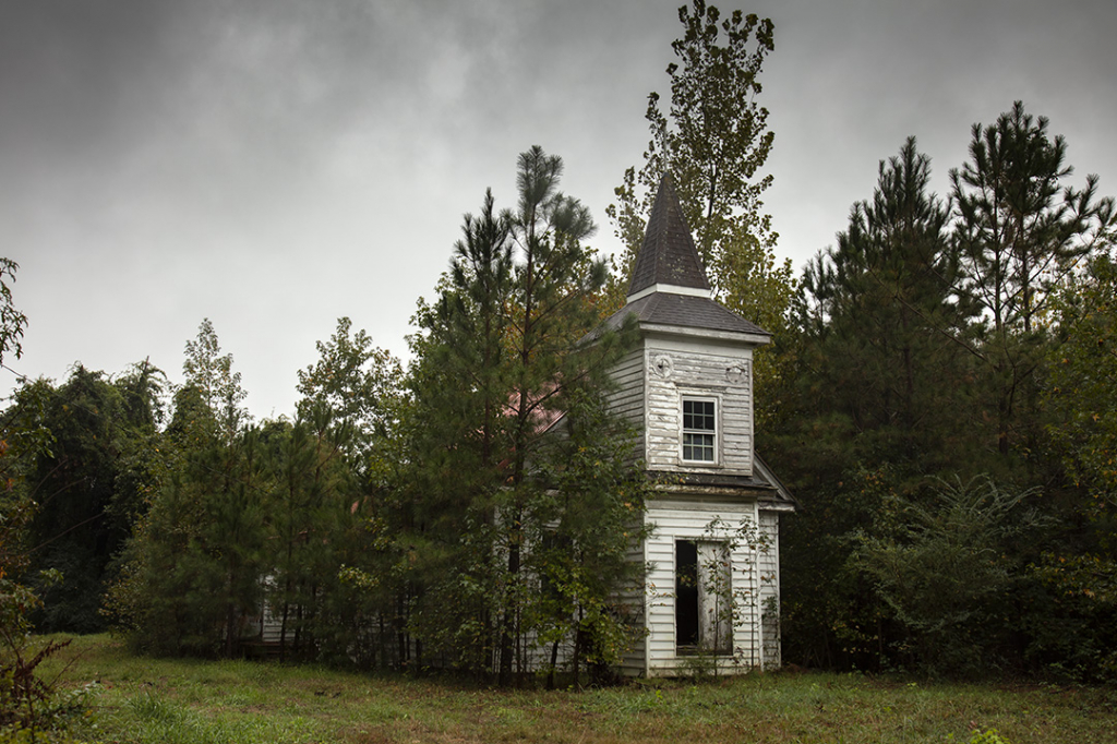 Old Church in Pines - ID: 15816885 © Dreaming Tree Galleries