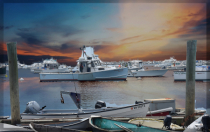 Rockport Harbor at Sunrise