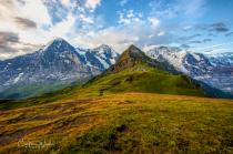 Eiger, Monch & Jungfrau 2008