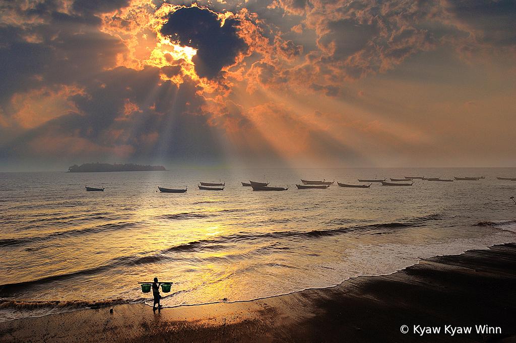 Evening of Fisherman