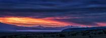 Patagonian Sunset Panorama