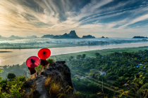 sunrise over Hpa-An