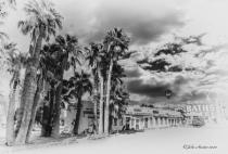 Buckhorn Motel Black & White