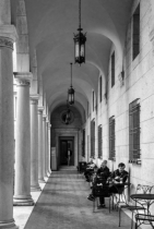 Arcade at the Boston Public Library