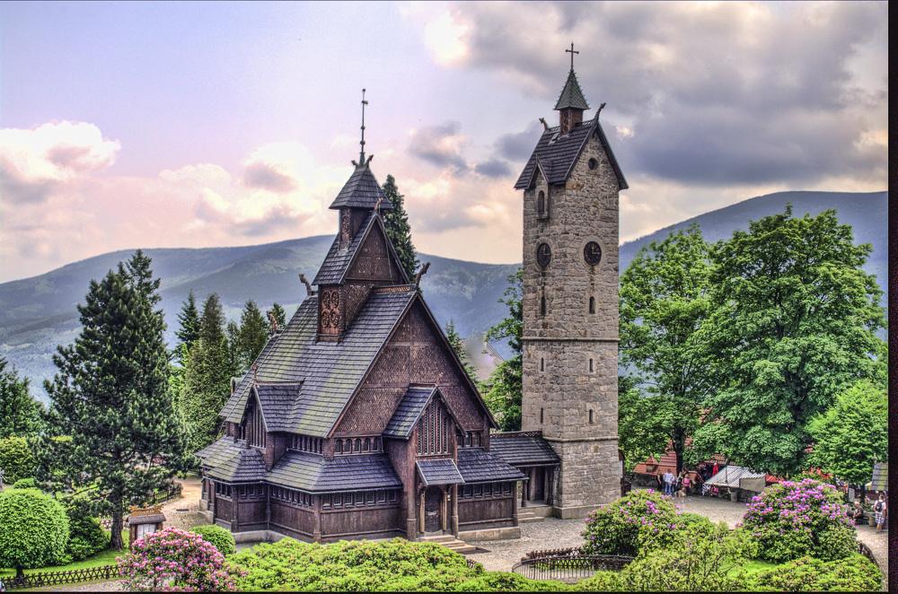 Wooden Church in Poland