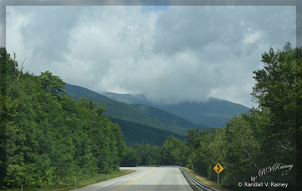 New Hampshire Mountain Road...