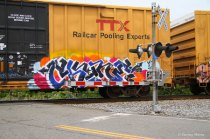 Graffiti On Wheels