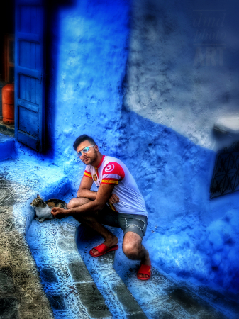 ~ ~ MONTASSAR IN CHEFCHAOUEN ~ ~