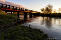 Bridge over the Maple River