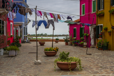 Laundry Day in Burano