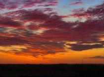 Sunrise In An Iowa Springtime