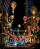 ~ ~ STREET OF BALLOON LIGHTS ~ ~
