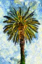 Palm Tree - Van Gogh