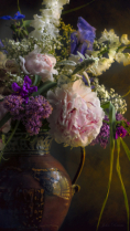 Peony and Floral Arrangement