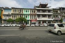 In The Yangon City