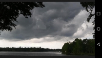 Tropical Storm over Blackwater River