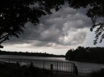 Tropical Storm Alberto arrives in Milton, Fla