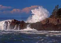 Splash at Arch Rock