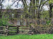 Behind The Split Rail Fence